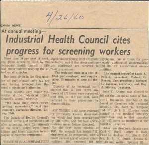 1960 news article