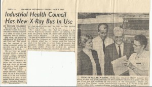 1967 IHC news article